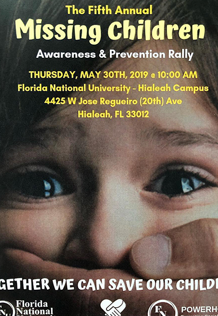 Fifth Annual Missing Children's Awareness and Prevention Rally